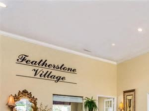 Resident Lounge at Featherstone Village Apartments, Durham