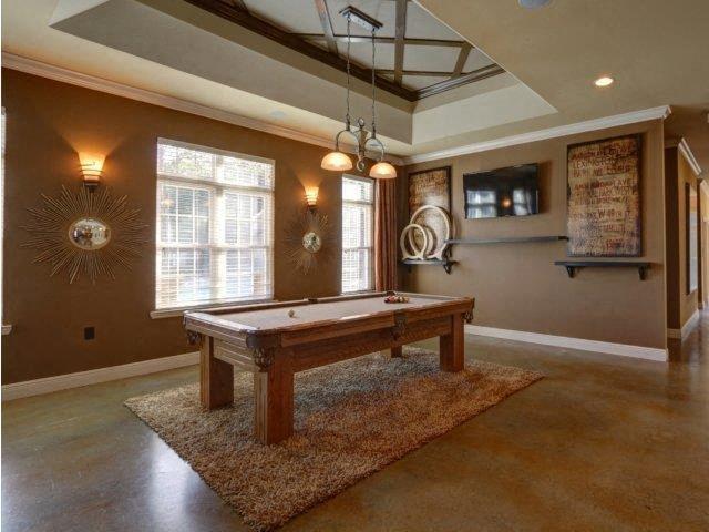 Billiard Room at Kilnsea Village Apartments, Summerville, South Carolina