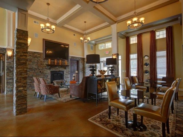 Clubhouse And Family Entertainment Area at Kilnsea Village Apartments, Summerville, SC, 29485