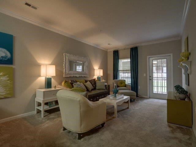 Upgraded Living Room Interiors  at Kilnsea Village Apartments, Summerville, SC