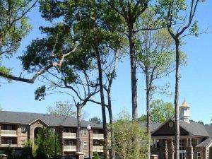 Outdoor Spaces at Kilnsea Village Apartments, South Carolina