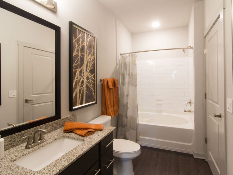 bathroom apartments in aurora