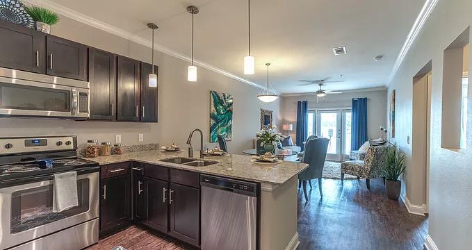 kitchen apartments in aurora