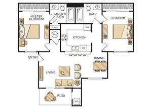 Plan C floor plan.