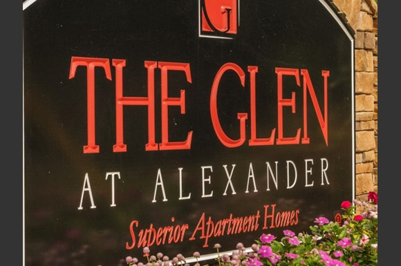 Image result for The Glen at Alexander Apartments LOGO