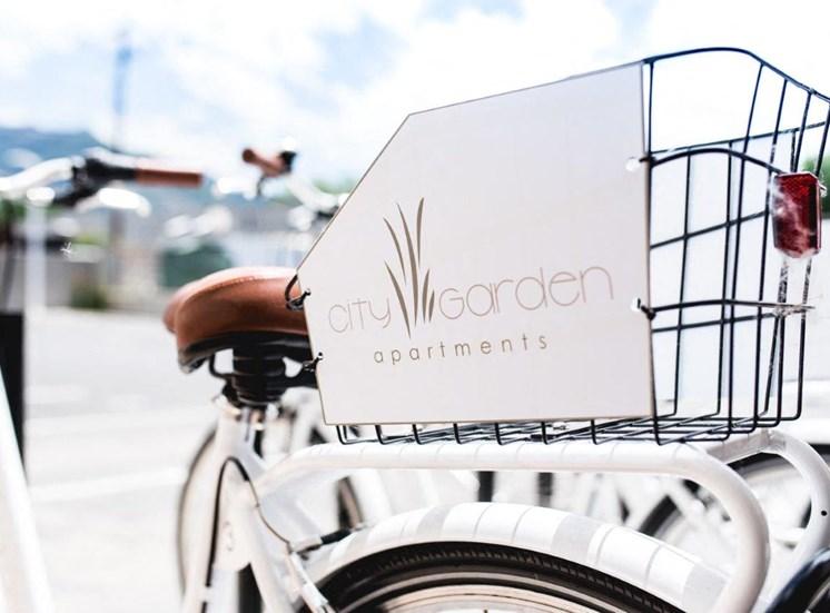 City Garden bikeshare rental bike