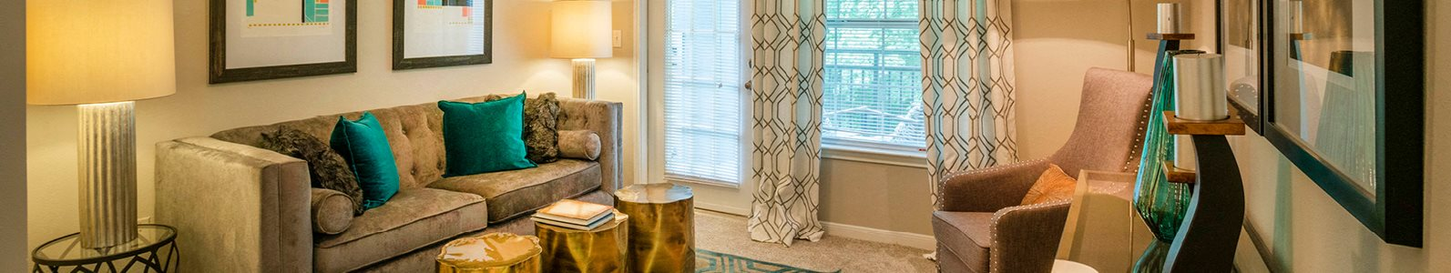 Open Floor Plan Homes with Wood Plank Vinyl Flooring (in Select Units) at Merritt at Sugarloaf Apartment Homes, Duluth, GA 30096