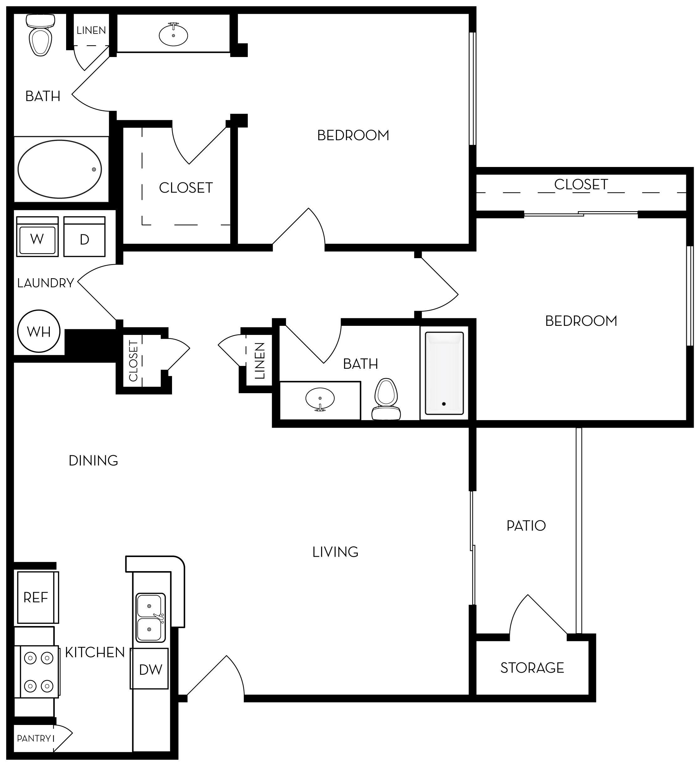 Serenity Floor Plan 3