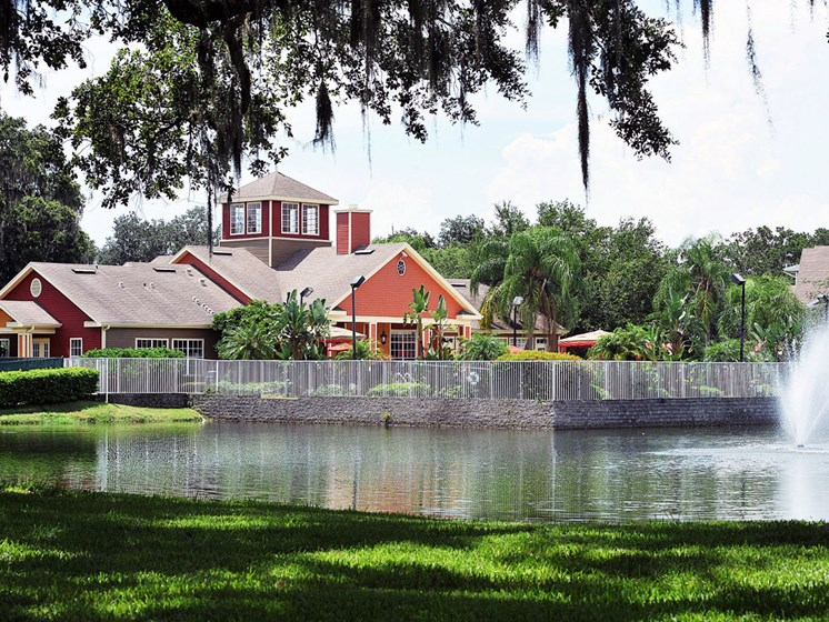 Clubhouse and Lake