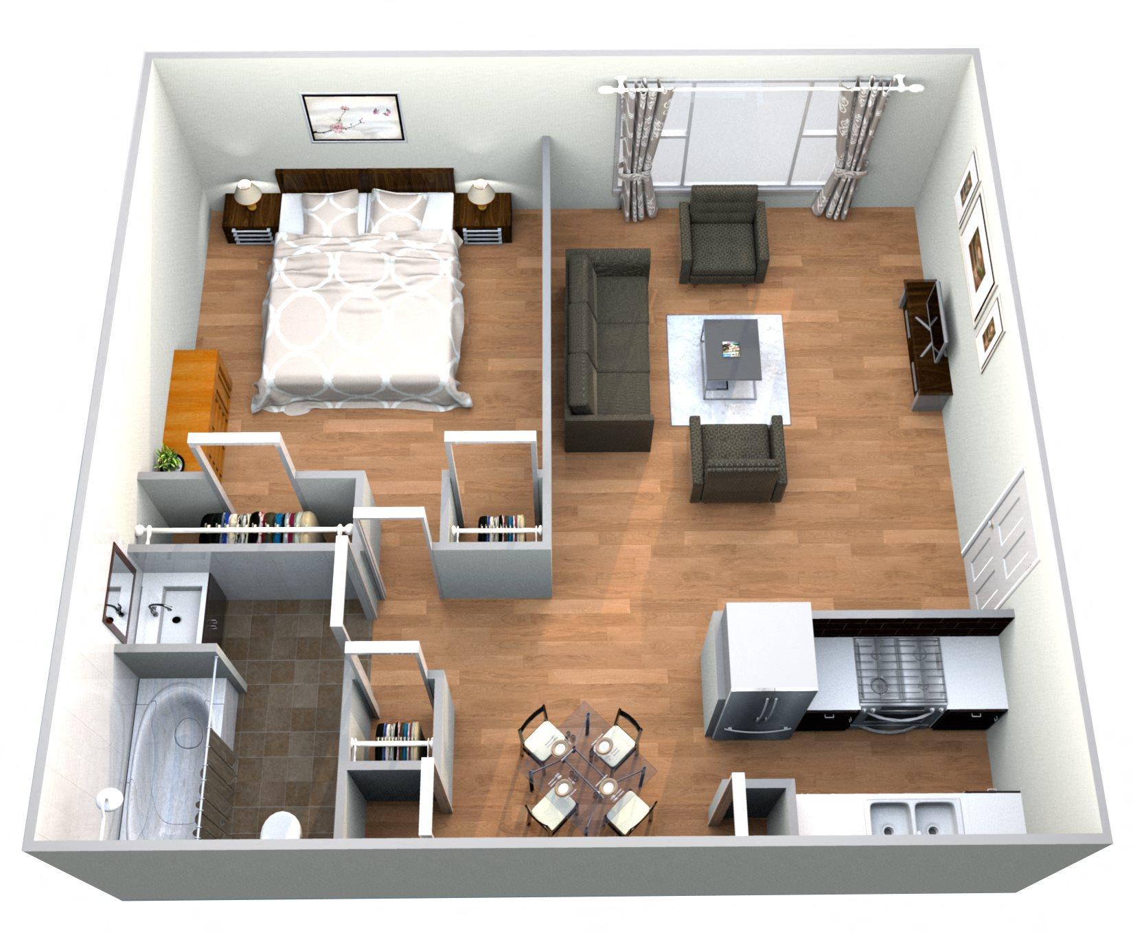 Chateau Floor Plan 1
