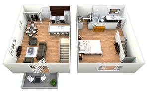 Clydesdale - 1 Bedroom w/ 1 Bath