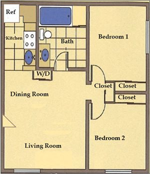 Two Bed / One Bath