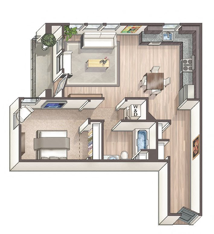 Savvy A7 Floor Plan 9