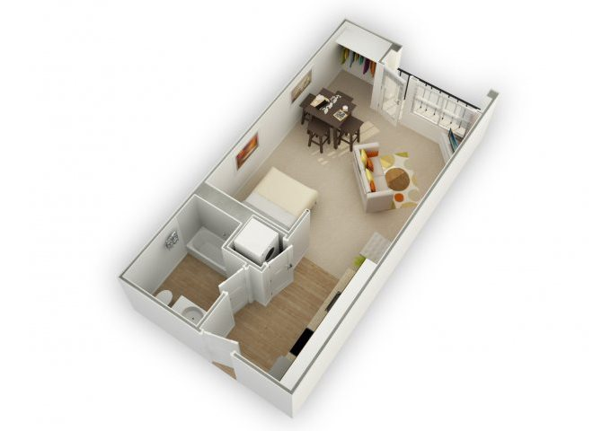 Allure S1 floor plan.