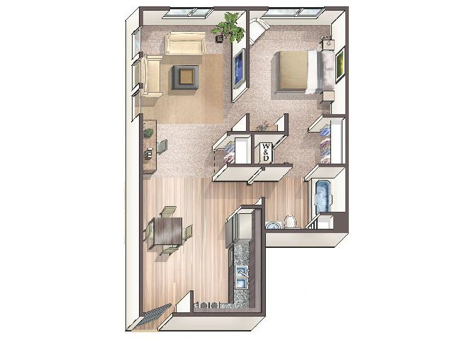 Savvy A1 floor plan.