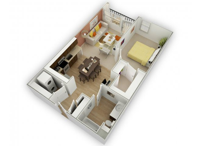 Savvy A3 floor plan.
