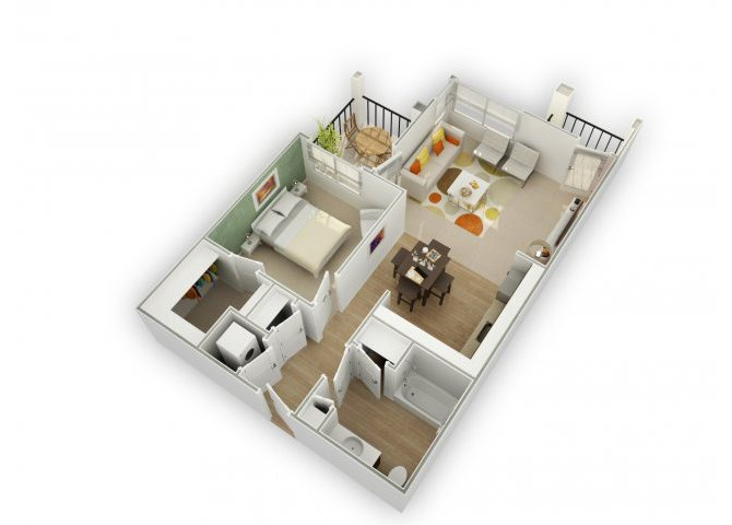 Savvy A5 floor plan.