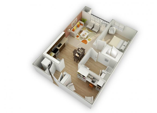 Savvy B1 floor plan.