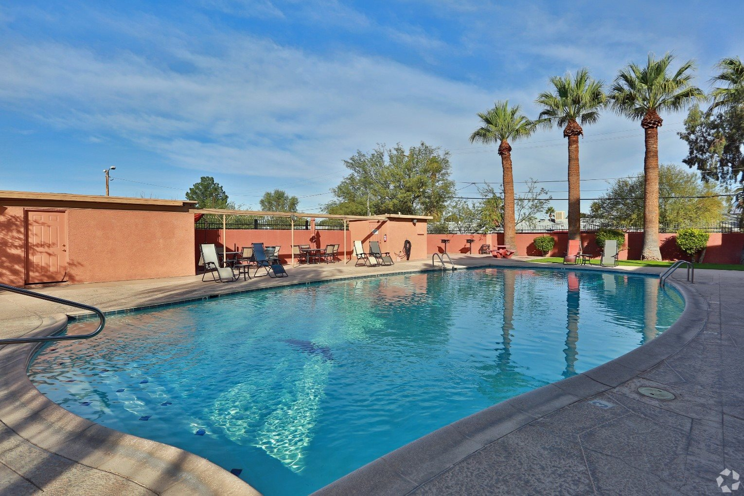 Pool & Pool Patio at San Simeon Apartments in Tucson AZ
