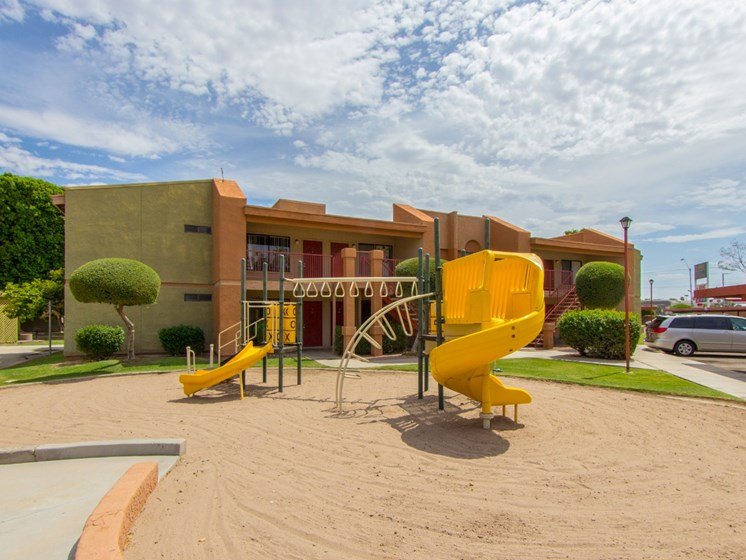 Playground at Regency Square Apartments in Yuma, AZ