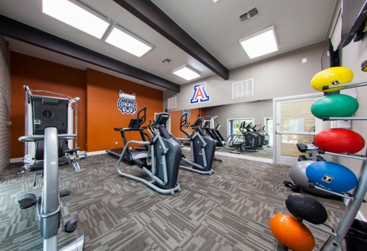 Community Fitness Center at Mission Palm Apartments in Tucson, AZ