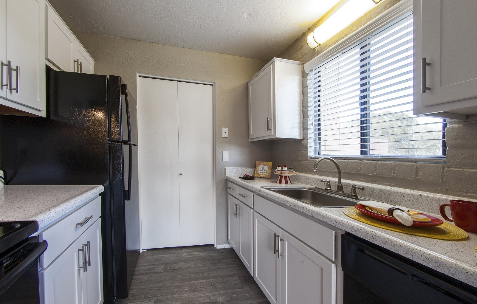 Kitchen at Mission Palms Apartments in Tucson, AZ