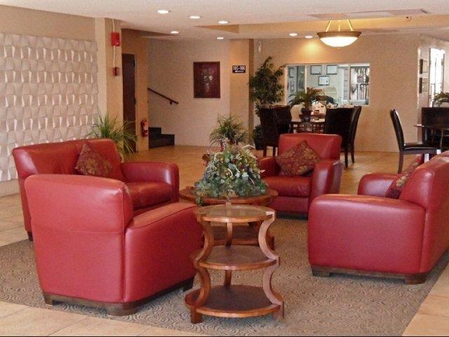 Lobby at The Van Buren Luxury Apartments in Tucson, AZ