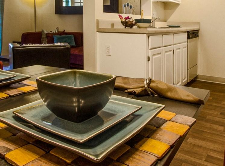 Kitchen & Dining Area at Zona Rio Apartments in Tucson, AZ