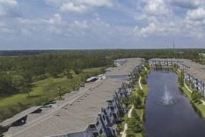 Andros Isles Luxury Apartments Daytona Beach, FL Aerial View