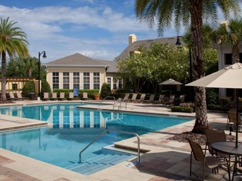 Heritage on Millenia Apartments in Orlando, FL Resort Style Swimming Pool