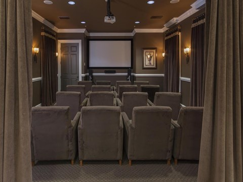 Heritage on Millenia Apartments in Orlando, FL Theater Room
