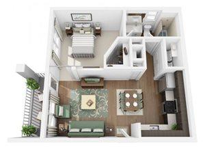 The Ellis Apartments | A0 Floor Plan