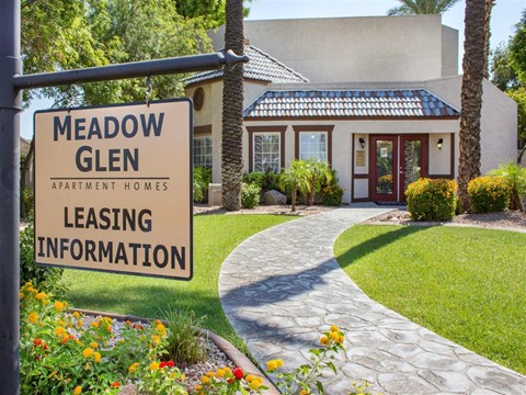 Meadow Glen Leasing Office - Front Entrance