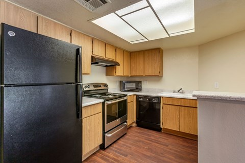 Meadow Glen Kitchen with Appliances
