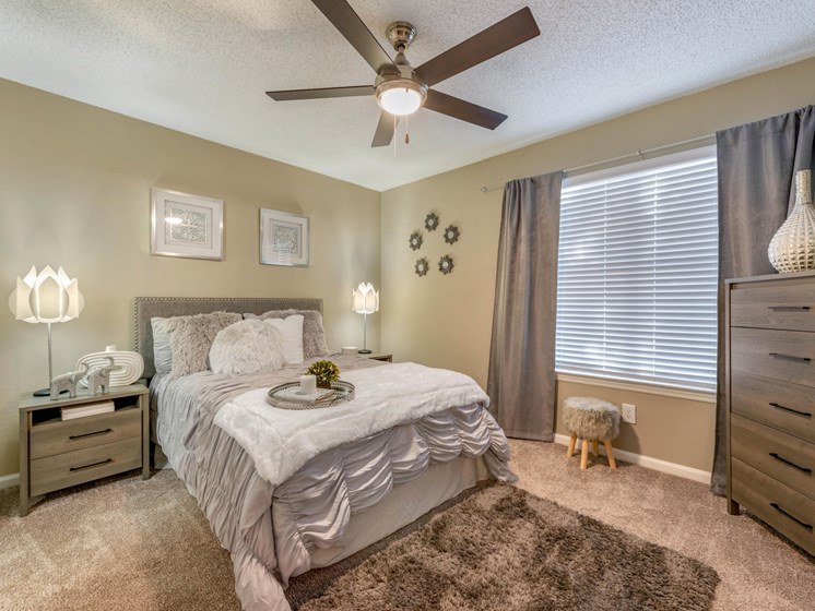 The Summit at Metrowest | Spacious Bedrooms with Multi-speed Ceiling Fan and Lighting