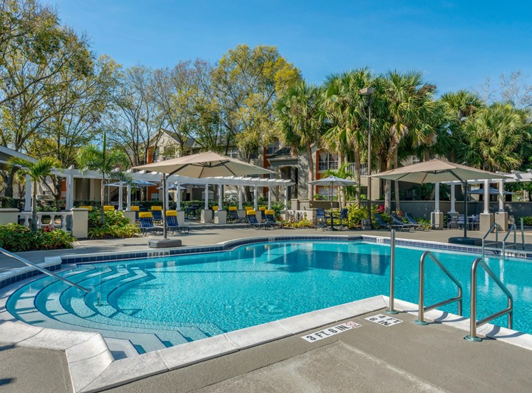 The Summit at Metrowest | Swimming Pool Paradise with Umbrella Shade