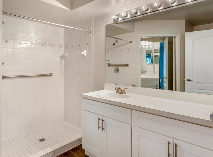 The Summit at Metrowest | Classic Bathroom with Spacious Vanity Countertops