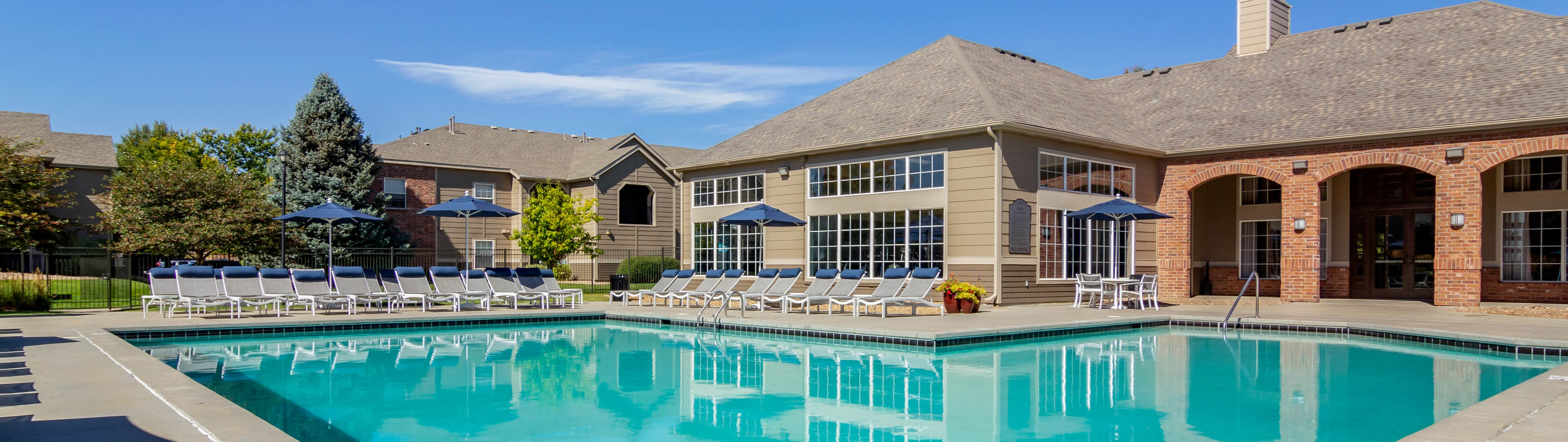 Legacy Heights Apartments | Swimming Pool and Clubhouse
