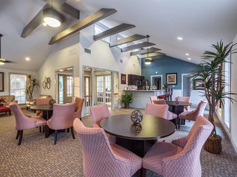 The Hunt Club at Pin Oak Apartments Katy, TX Clubhouse