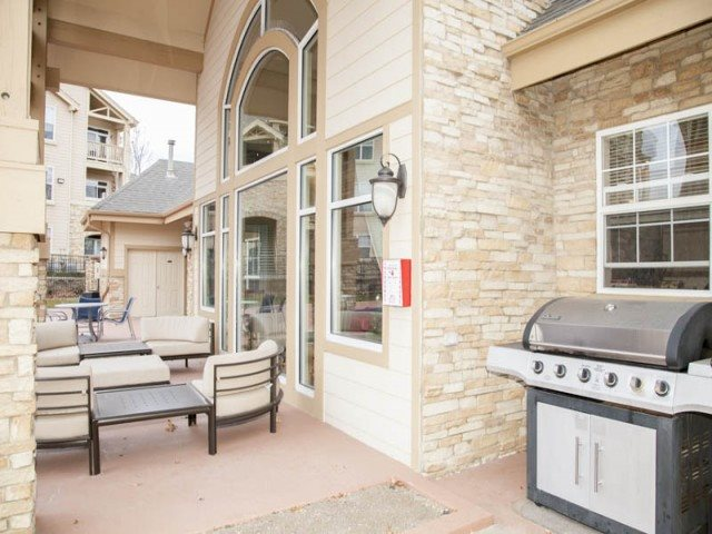 The Village at Legacy Ridge| Social Outdoor Grilling Area