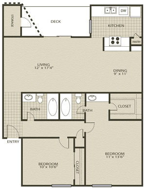 Floor Plans 6 | Grove At Northwest Hills Apartments Austin, Tx