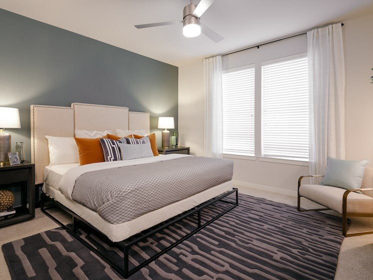 King-Sized Bedrooms at The Flats at 901, Euless, Texas