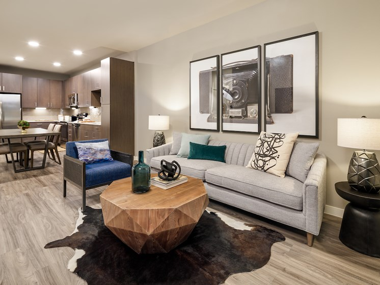 Modern Floor Plans Available at The Flats at 901, Texas