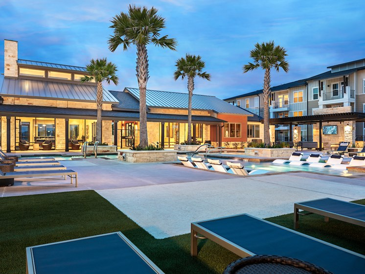 Community Clubhouse With Swimming Pool at Viridian, San Antonio, TX, 78244