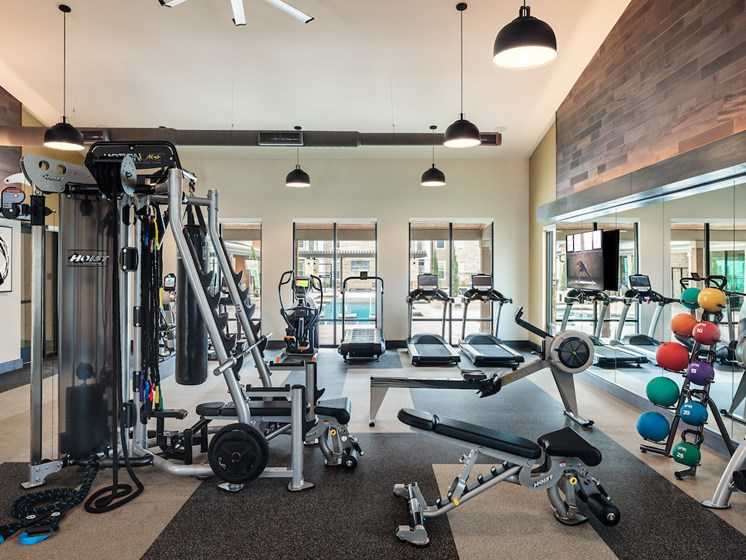 State of the art fitness center at Viridian, San Antonio,Texas