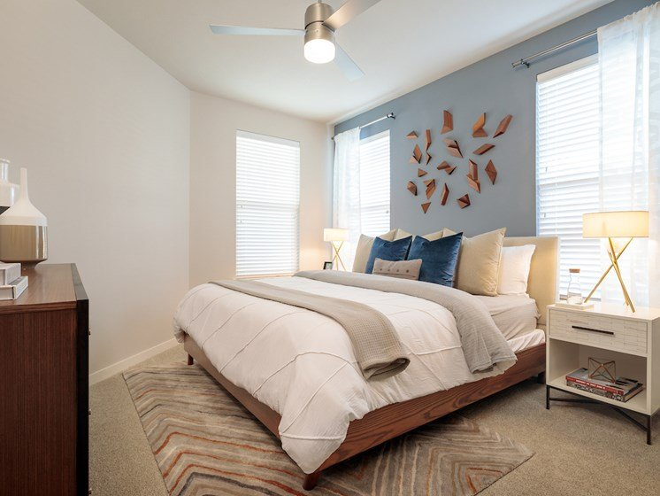 Cozy bedroom at Viridian, San Antonio,Texas