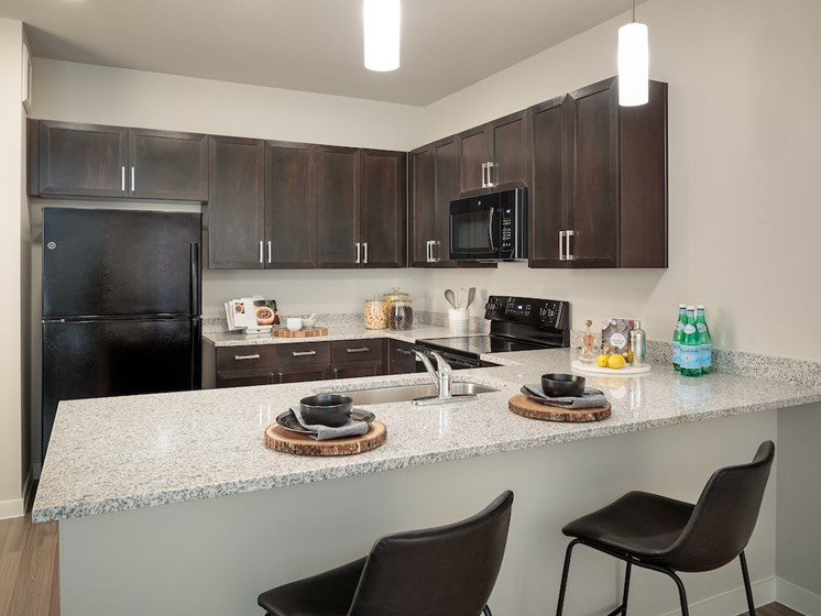 Granite Countertops at Viridian, San Antonio,Texas
