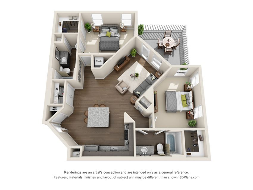 Floor plan at Viridian,San Antonio,Texas