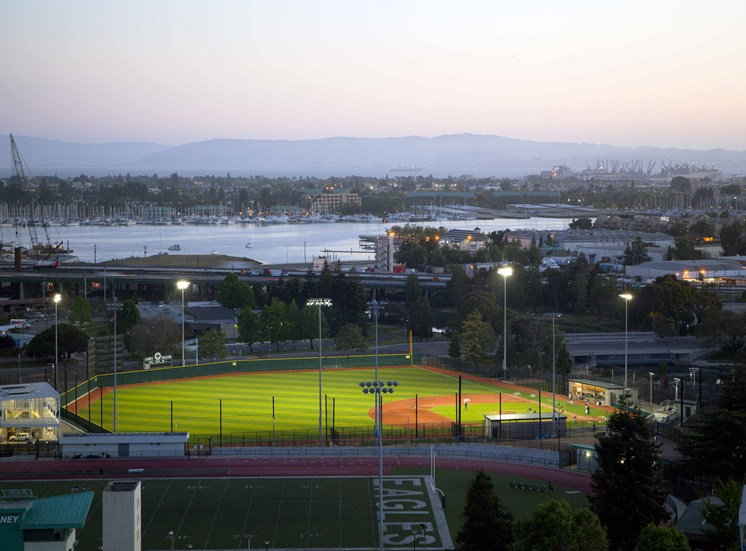 Baseball Field Oakland CA  94606 rentals Merritt on 3rd