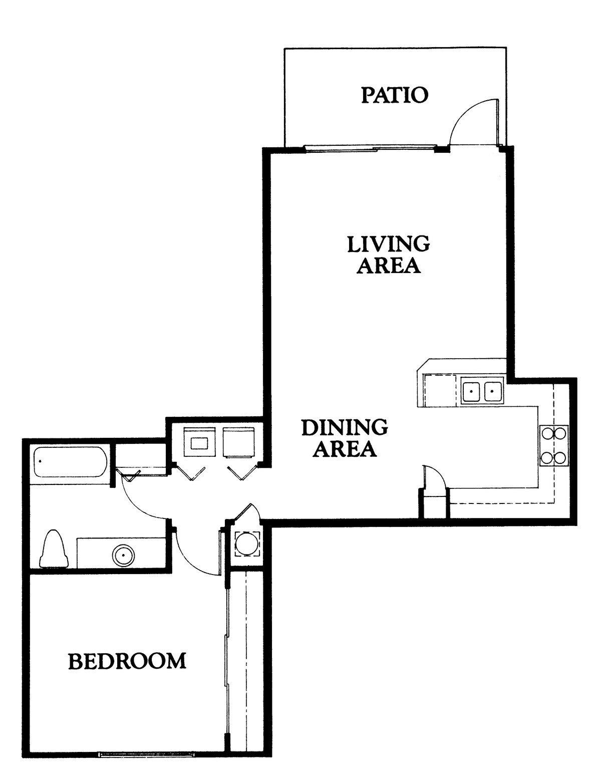 Cypress Floor Plan 1